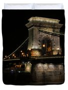 Budapest At Night. Duvet Cover