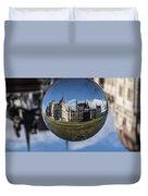 Budapest Globe - Houses Of Parliament Duvet Cover