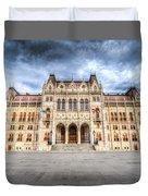 Budapest Parliament Duvet Cover