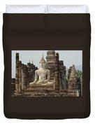 Buddha At Sukhothai Duvet Cover