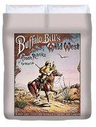 Buffalo Bill: Poster, 1893 Duvet Cover