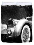 Bugatti Type 57 Aerolithe Duvet Cover