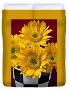 Bunch Of Sunflowers Duvet Cover