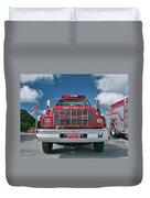 Burnington Iolta Fire Rescue - Tanker Engine 1550, North Carolina Duvet Cover