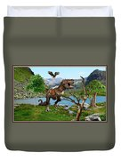 By The Lake 6 Duvet Cover