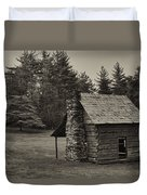 Cabin On The Blue Ridge Parkway - 15 Duvet Cover