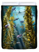 California Kelp Forest Duvet Cover