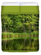 Calming Trees Duvet Cover