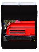 Firebird Tail Light Duvet Cover