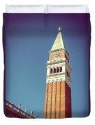 Campanile In Venice Duvet Cover