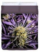 Cannabis Macro Duvet Cover