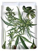 Cannabis Sativa Duvet Cover