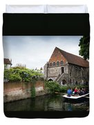 Canterbury City, Kent Uk Duvet Cover