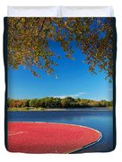 Cape Cod Cranberry Bog Duvet Cover