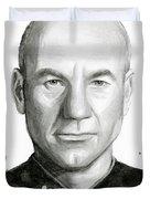 Captain Picard Duvet Cover