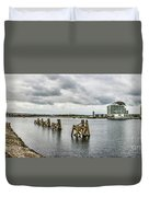 Cardiff Bay Panorama Duvet Cover