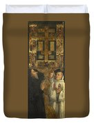 Cardinal Bessarion With The Bessarion Reliquary Duvet Cover