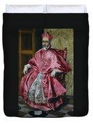 Cardinal Fernando Nino De Guevara Duvet Cover