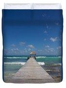 Caribbean Landing Duvet Cover