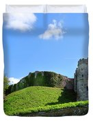 Carisbrooke Castle - Isle Of Wight Duvet Cover