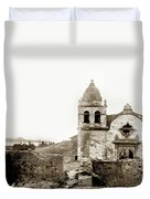 Carmel Mission By A.j. Perkins 1880 Duvet Cover
