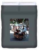 Carnival Cart Duvet Cover