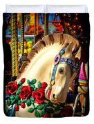 Carousel Horse  Duvet Cover