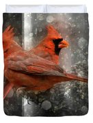 Cary Carolina Cardinals  Duvet Cover