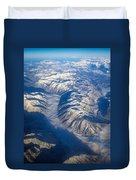 Cascade Mountains Duvet Cover