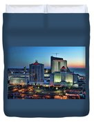 Casinos Atlantic City  Duvet Cover