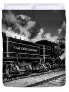 Cass Scenic Railroad Duvet Cover