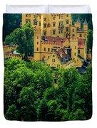 Castle Hohenschwangau Duvet Cover