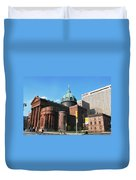 Cathedral Basilica Of Saints Peter And Paul Philadelphia Duvet Cover