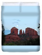 Cathedral Rock Moon 081913 A2 Duvet Cover