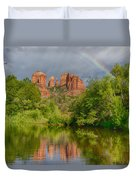 Cathedral Rock Rainbow Duvet Cover