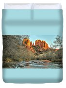 Cathedral Rock, Sedona Duvet Cover