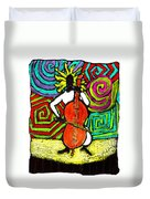 Cello Soloist Duvet Cover