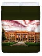 Central High School - Pueblo Colorado Duvet Cover
