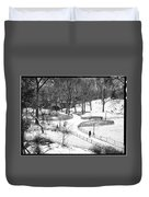 Central Park 6 Duvet Cover by Wayne Gill