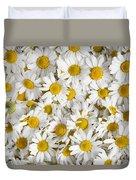 Chamomile Flowers Duvet Cover
