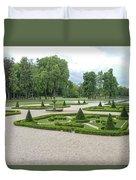 Chantilly France Street Scenes Duvet Cover