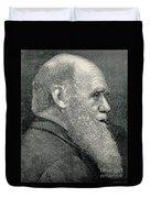 Charles Darwin, English Naturalist Duvet Cover