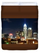 Charlotte Skylilne At Night Duvet Cover