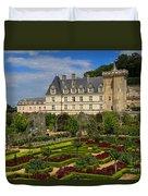 Chateau De Villandry Duvet Cover