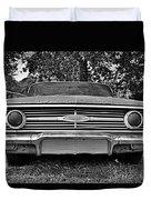 Chevrolet Bel Air Black And White 2 Duvet Cover