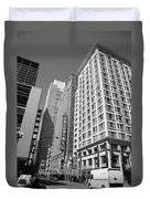 Chicago Downtown Duvet Cover