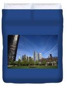 Chicago Skyline Duvet Cover