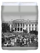 Chief Justice Fred Vinson Duvet Cover