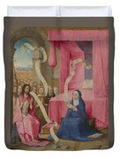 Christ Appearing To The Virgin Duvet Cover