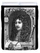 Christiaan Huygens, Dutch Polymath Duvet Cover